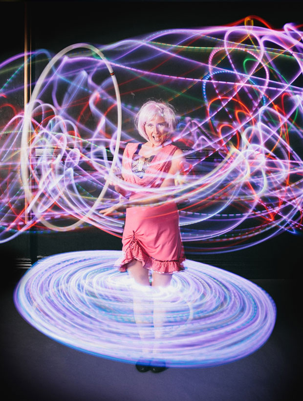 Laughter House Entertainment – LED Hoops